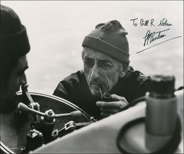 Jacques-Cousteau-autographed-photo